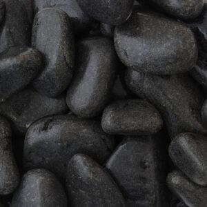 Ebony Black Cobbles