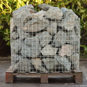 Green Granite Rockery Stone -0