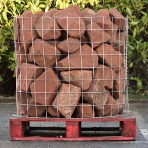 Red Sandstone Rockery Stone -0