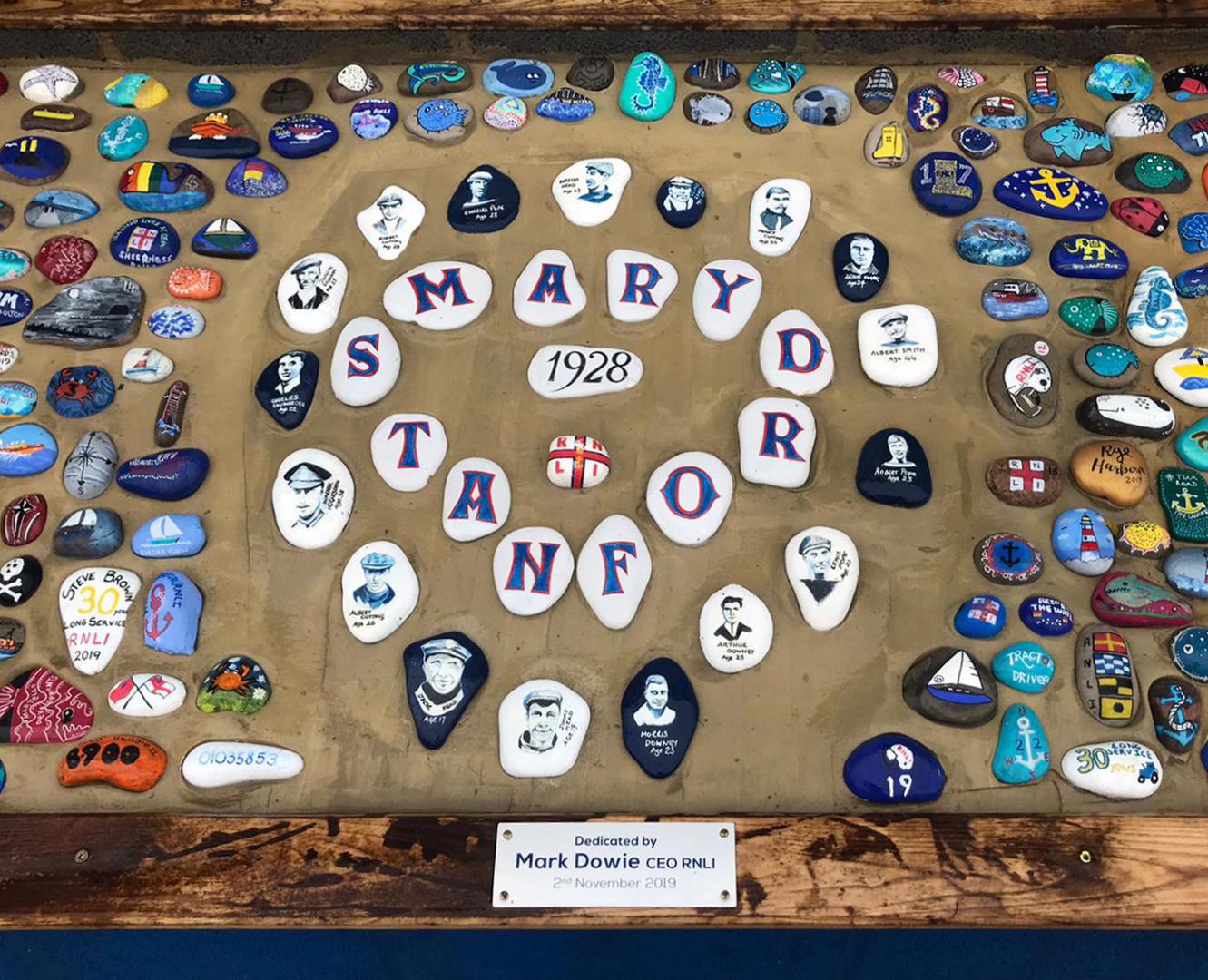 rye pebble memorial