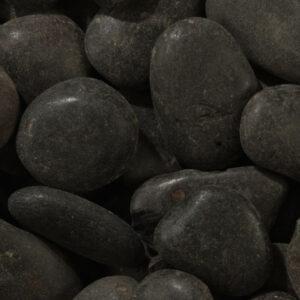 Black Polished Cobbles